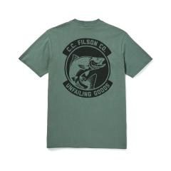 Men's Ranger Graphic T-Shirt - Lake Green