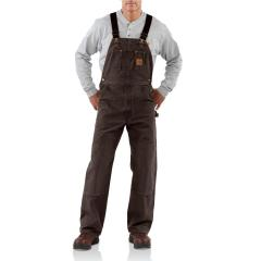 Men's Sandstone Bib Overall - Unlined - Discontinued Pricing
