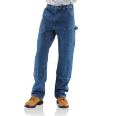 Men's Dungaree-Fit Double-Front Washed Logger