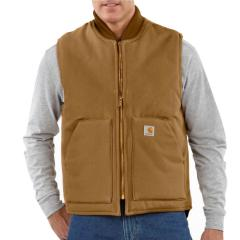 Men's Duck Vest - Arctic-Quilt Lined