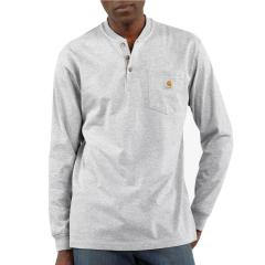 Men's Workwear Pocket Long-Sleeve Henley
