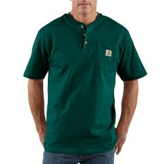 Men's Workwear Pocket Short-Sleeve Henley