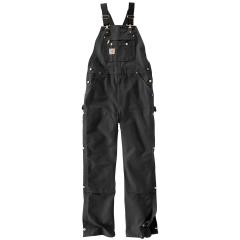 Men's Duck Zip-to-Thigh Bib Overall - Unlined
