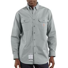Men's Flame-Resistant Twill Shirt with Pocket Flaps