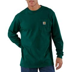 Men's Long-Sleeve Workwear T-Shirt - Discontinued Pricing