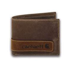 Men's Two-Tone Billfold with Wing Wallet