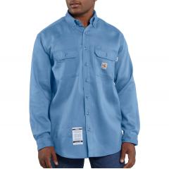 Men's Flame-Resistant Work-Dry Lightweight Twill Shirt