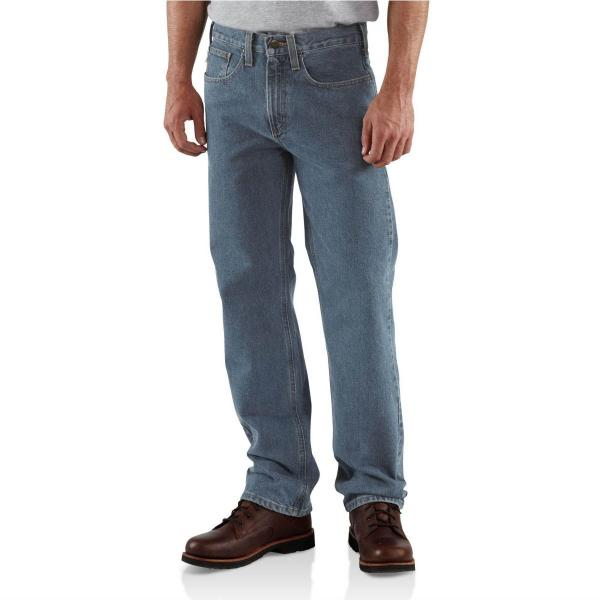 Carhartt Men's Traditional-Fit Jean - Straight Leg - Discontinued Pricing