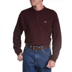 Men's Riggs Workwear Long Sleeve Henley