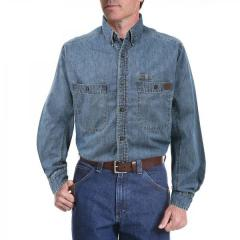 Men's Riggs Workwear Denim Work Shirt