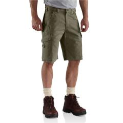 Men's Ripstop Cargo Work Short - 11 Inch Inseam
