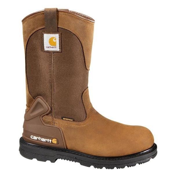 Carhartt Men's 11 Inch Bison Waterproof Work Boot - Non-Safety Toe
