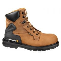 Men's 6 Inch Bison Waterproof Work Boot - Steel Toe
