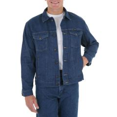 Wrangler Men's Unlined Denim Jacket - Prewashed