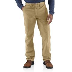 Men's Relaxed Fit Twill 5 Pocket Work Pant