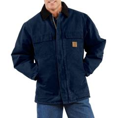 Men's Sandstone Traditional Coat - Arctic-Quilt Lined - Discontinued Pricing