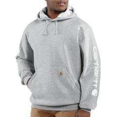 Midweight Signature Sleeve Logo Hooded Sweatshirt - Discontinued Pricing