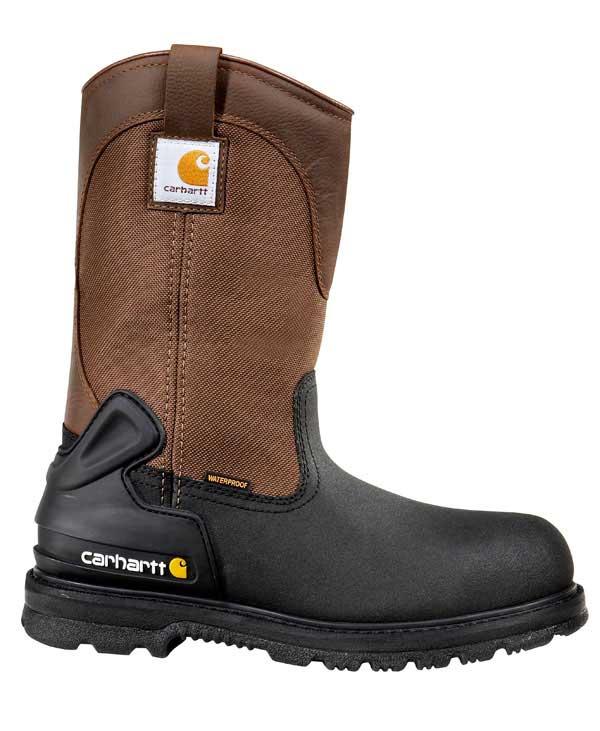 Carhartt Men's 11 Inch Insulated Brown Work Boot Steel Toe thumbnail