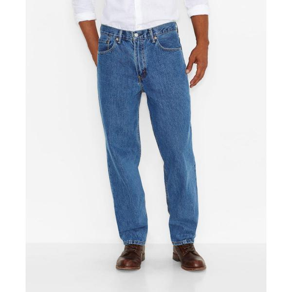 Levi Men's 560 Comfort Fit Jeans - Big and Tall-Discontinued