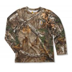Boys' Work Camo Pocket T-Shirt