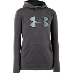 Boys' Armour Fleece Storm Big Logo Pull Over Hoody