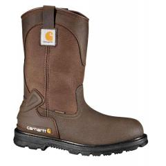 Men's 11 Inch Bison Waterproof Mud Wellington Steel Toe