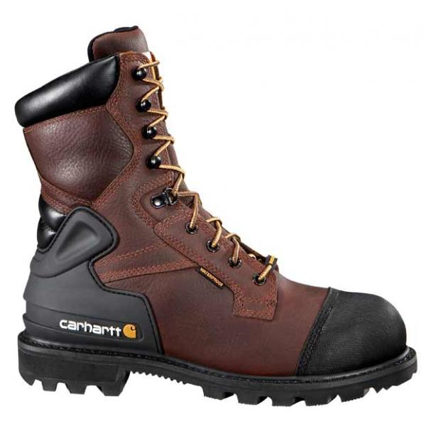 Carhartt Men's 8 Inch Work CSA Boot Steel Toe | Free Shipping