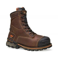 Men's Boondock 8 Inch Comp Toe Work Boot - Insulated