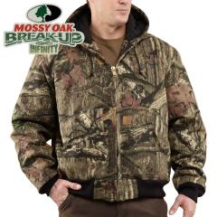 Men's Quilted-Flannel Lined WorkCamo Active Jac-Discontinued Pricing