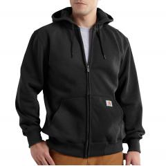 Carhartt Men's Rain Defender Paxton Heavyweight Hooded Zip-Front Sweatshirt