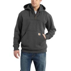 Men's Rain Defender Paxton Heavyweight Hooded Zip Mock Sweatshirt