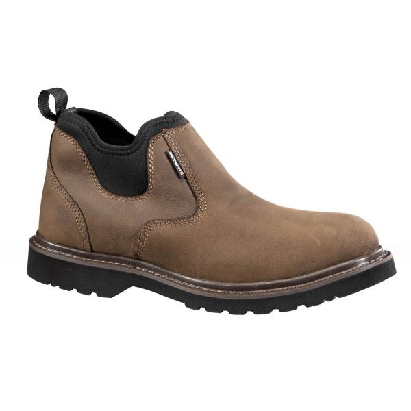Carhartt Men's Brown Waterproof Oxford Romeo Non Safety Toe