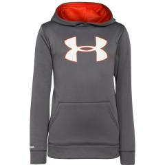 Boys' Armour Fleece Storm Big Logo Hoody