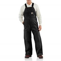 Men's Flame Resistant Duck Bib Lined Overall