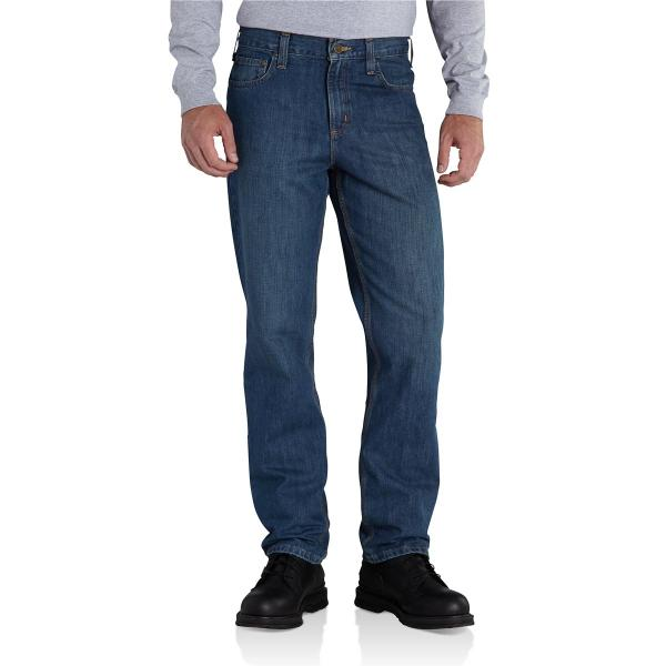 Carhartt Men's Straight Traditional Fit Elton Jean