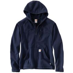 Men's Flame Resistant Force Fleece Hooded Full Zip
