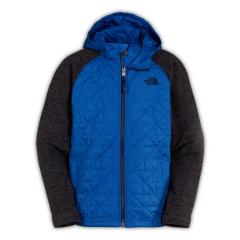 Boys' Quilted Sweater Fleece Hoodie