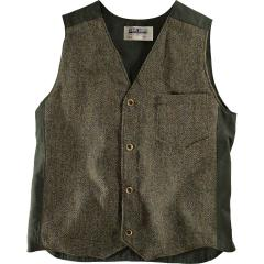 Men's Uptown Vest Harris Tweed