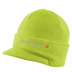 Knit Hat with Visor - Discontinued Pricing