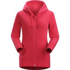 Women's Word on End Full Zip Hoody
