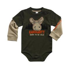 Infant Boys' Born to Be Wild Bodyshirt