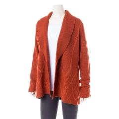 Placed Cable Cardigan