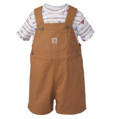 Infant Boys' Carhartt Shortall Set