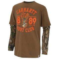 Boys' Hunt Club Layered Tee