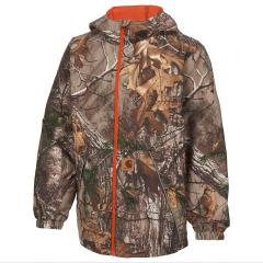 Boys' Camo Packable Rain Jacket