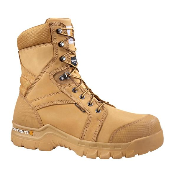 3a01f8bbe2d Men's 8 Inch Wheat Rugged Flex Waterproof Insulated Work Boot - Non Safety  Toe