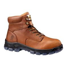 Men's 6 Inch Brown Waterproof Work Boot - Non Safety Toe