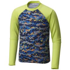 Boys' Mini Breaker Printed Long Sleeve Sunguard