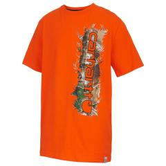Boys' Vertical Camo Tee