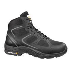 Men's Lightweight Black Work Hiker - Steel Toe